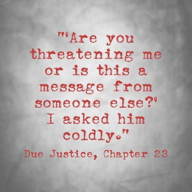 Quote- Due Justice