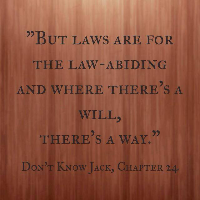 Quote- Don't Know Jack- LawAbiding