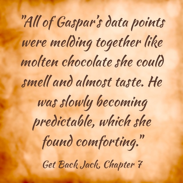Quote- Get Back Jack- Chocolate