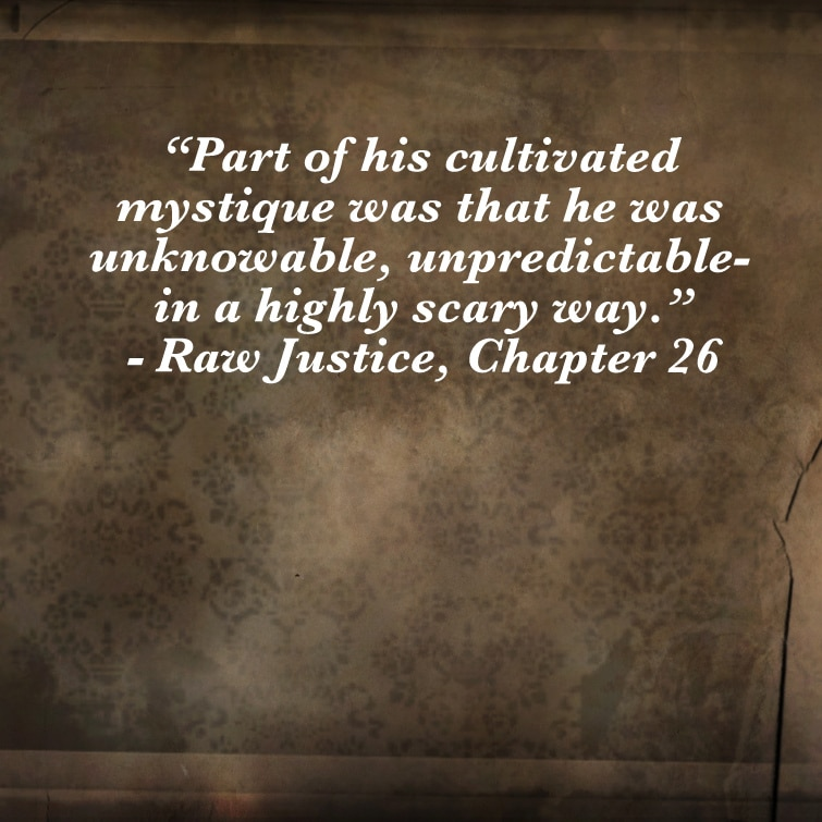 Quote- Raw Justice- Mystique