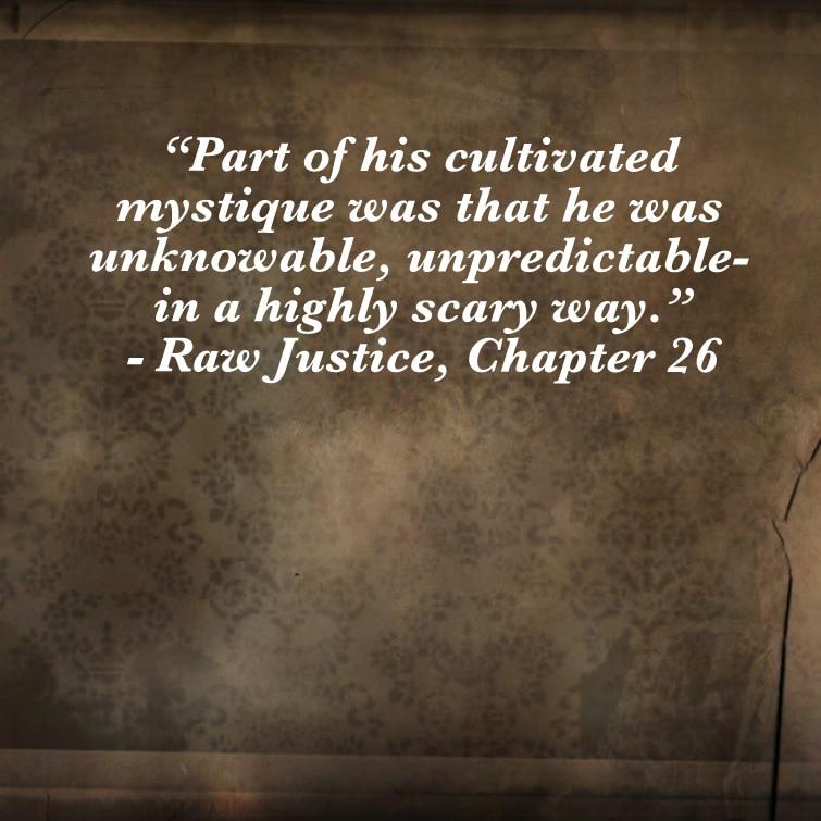 Quote- Raw Justice- Mystique