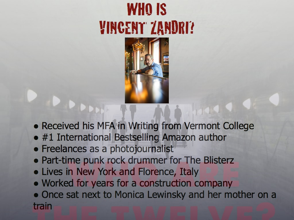 Who is Vincent Zandri