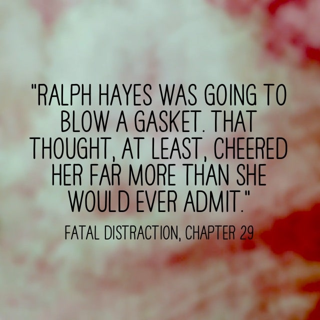 Quote- Fatal Distraction- Ralph Hayes