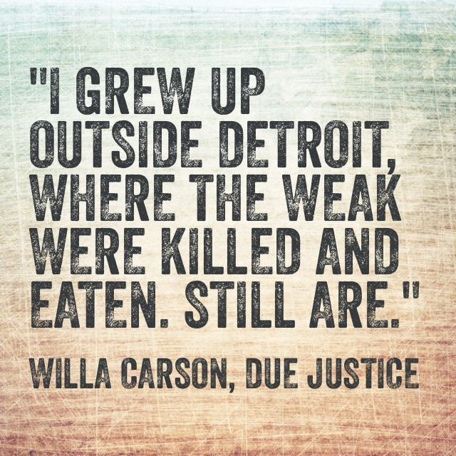 Quote- Due Justice- Detroit