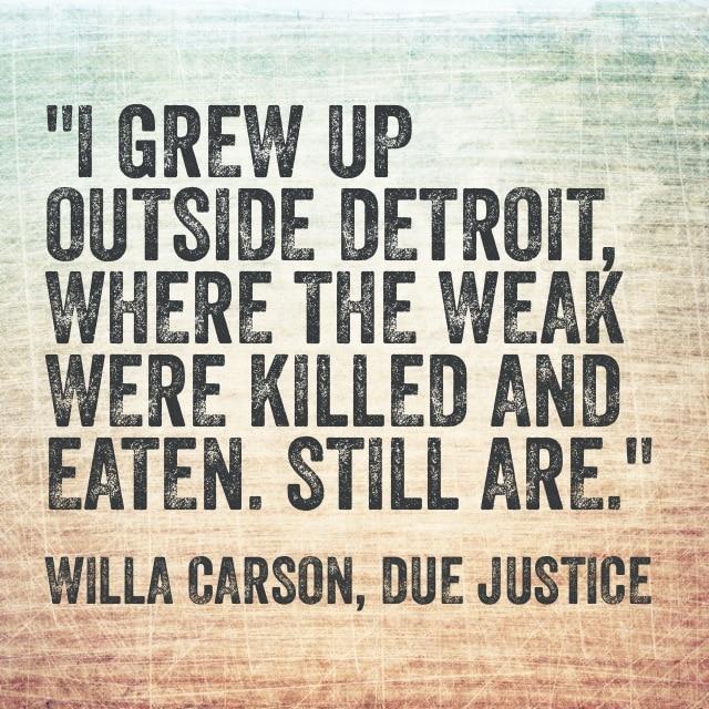 Quote- Due Justice- Detroit