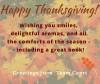 Happy Thanksgiving from Diane Capri
