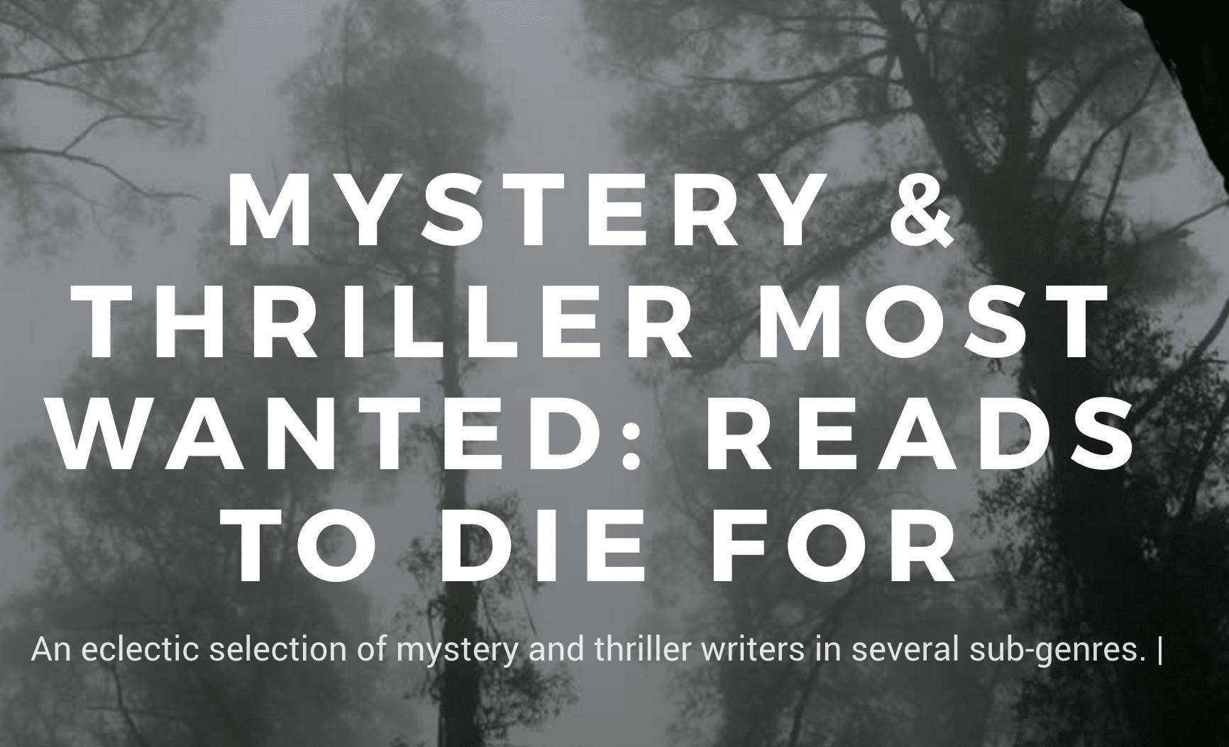 mystery thriller books reviews