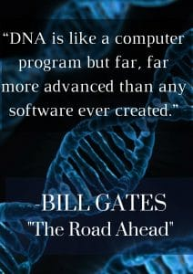 Bill Gates Quote DNA