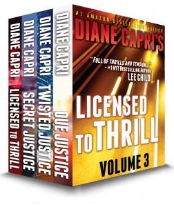 Licensed to Thrill, Volume 3 - Diane Capri
