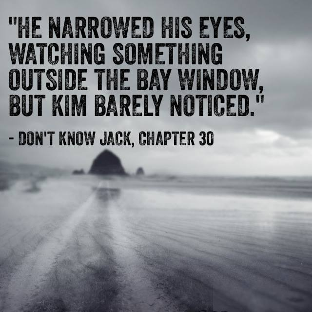 Quote- Don't Know Jack- Narrowed Eyes