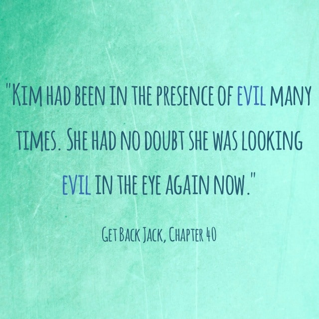 Quote- Get Back Jack- Evil Eye
