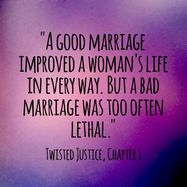 Quote- Twisted Justice- Lethal Marriage