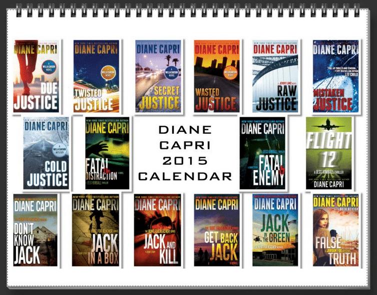 Diane Capri Calendar