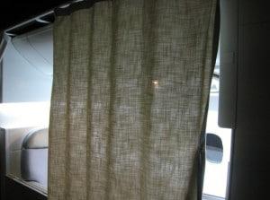 First Class Curtain