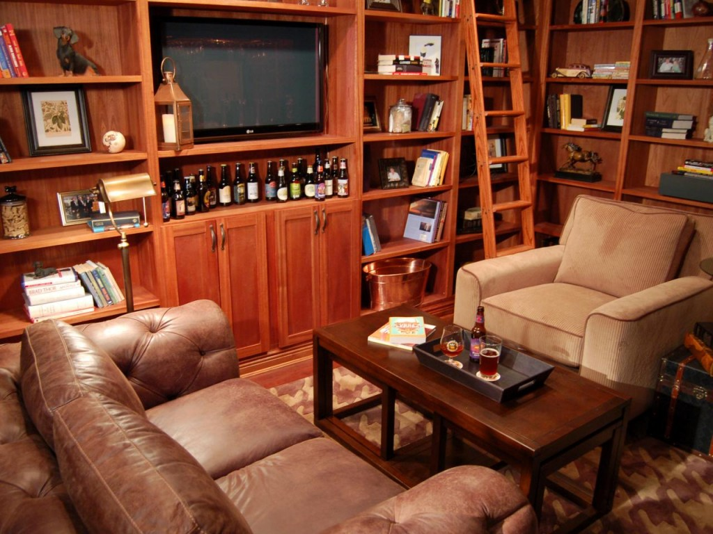 Man caves are really reading nooks diane capri - What is a man cave ...