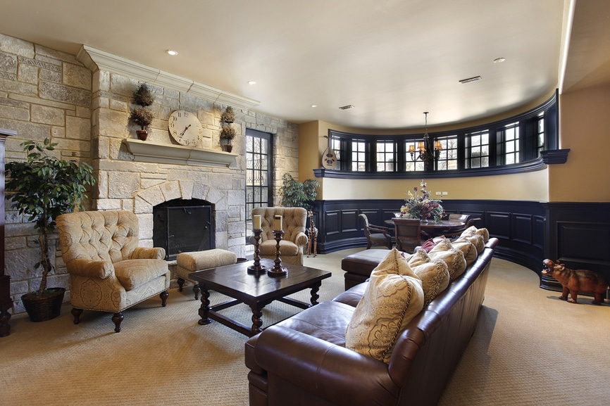 Man Cave With Fireplace : Rustic man cave diane capri licensed to thrill