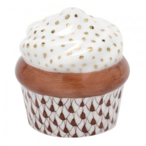 Herend Chocolate Cupcake