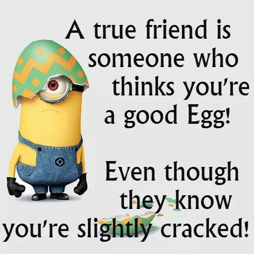 Friendship Quote- Minion