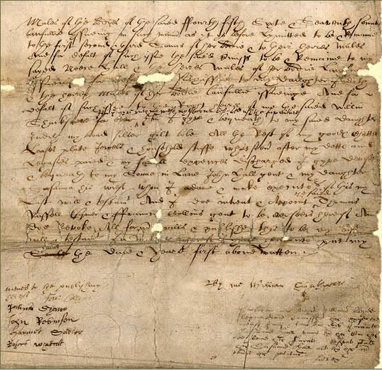 William Shakespeare's Will