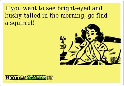 Morning Person Humor