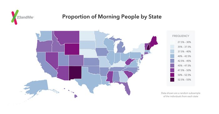 Morning Person DNA