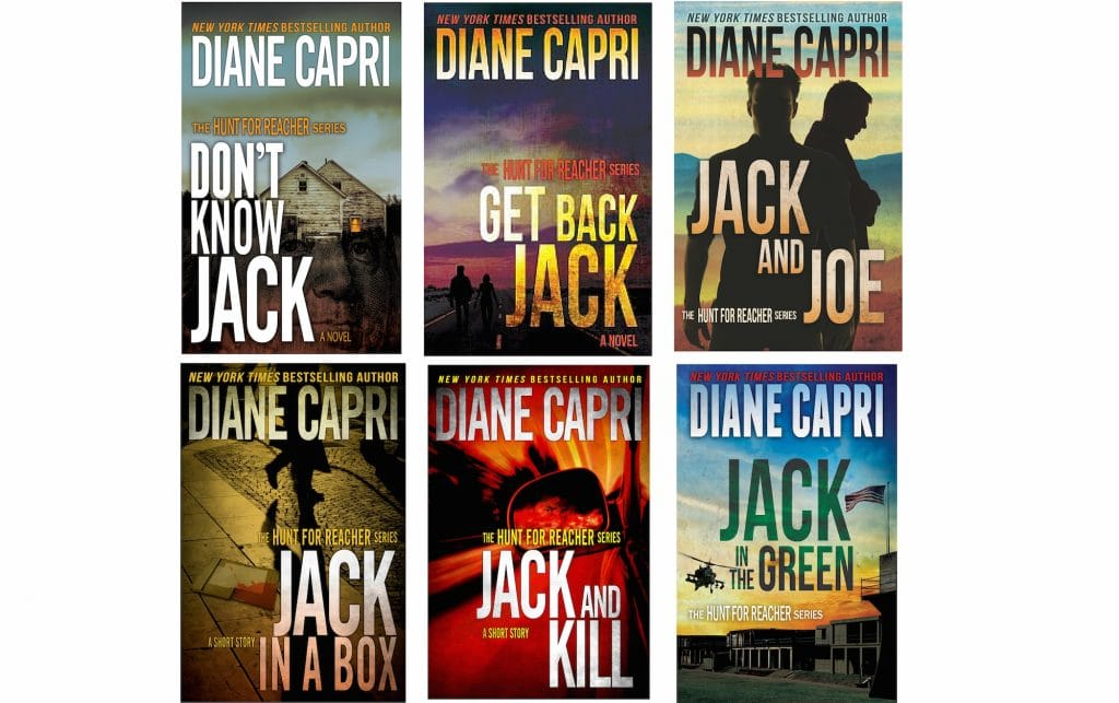 Licensed To Thrill 6 Books by Diane Capri