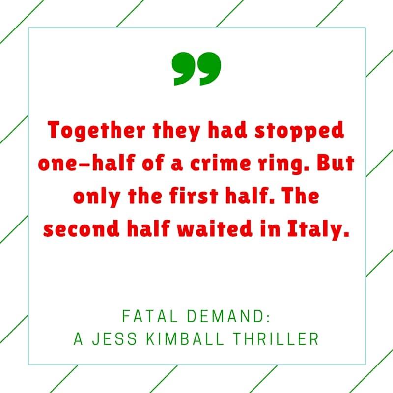 Quote- Fatal Demand by Diane Capri