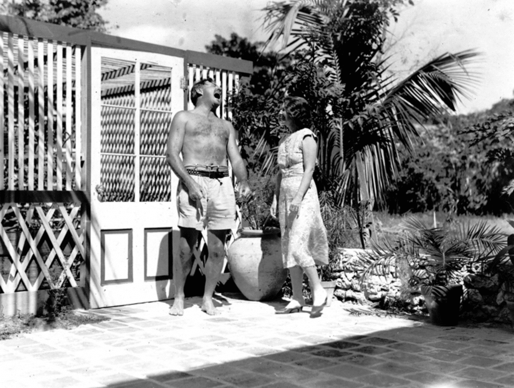 Hemingway at the pool