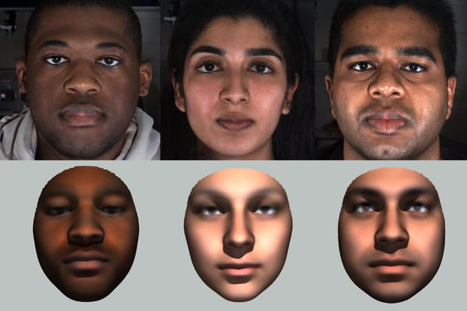 DNA Face Comparisons