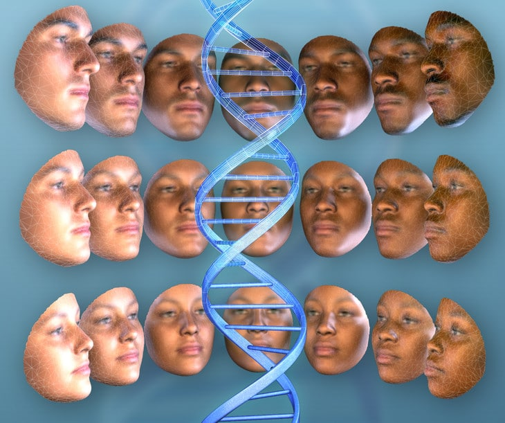 DNA Generated Faces