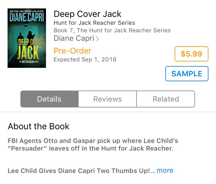 Deep Cover Jack iBooks