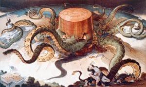 Oil Monopoly Cartoon
