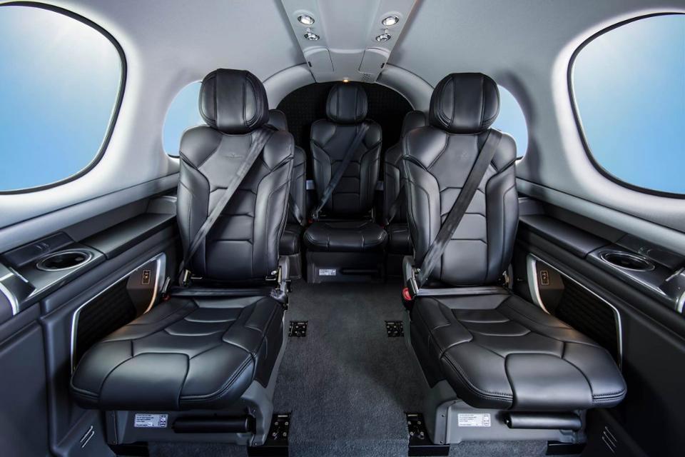 Cirrus Vision Jet Interior