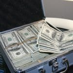 Money Cash Briefcase