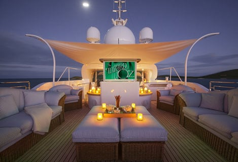 Superyacht Outdoor Cinema 2