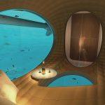 Superyacht Underwater Observation Room