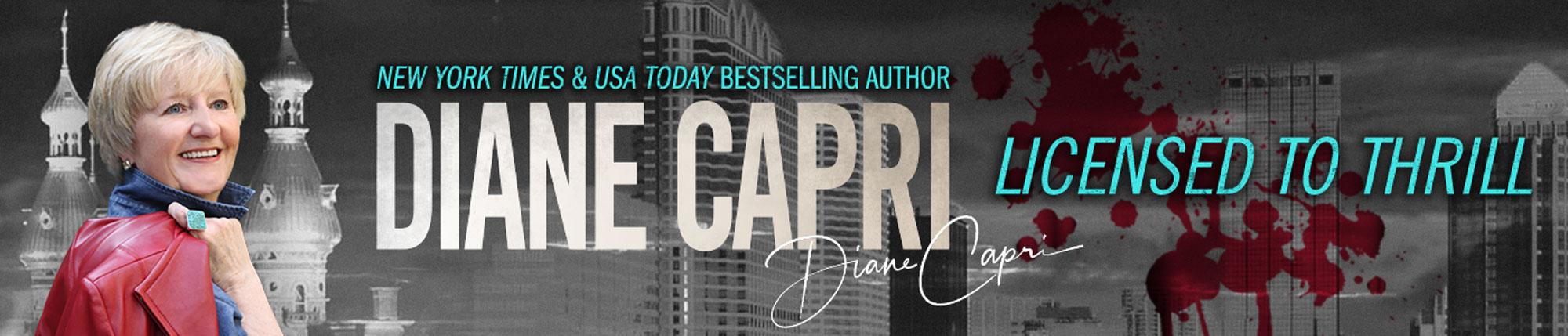 Diane Capri - Licensed to Thrill